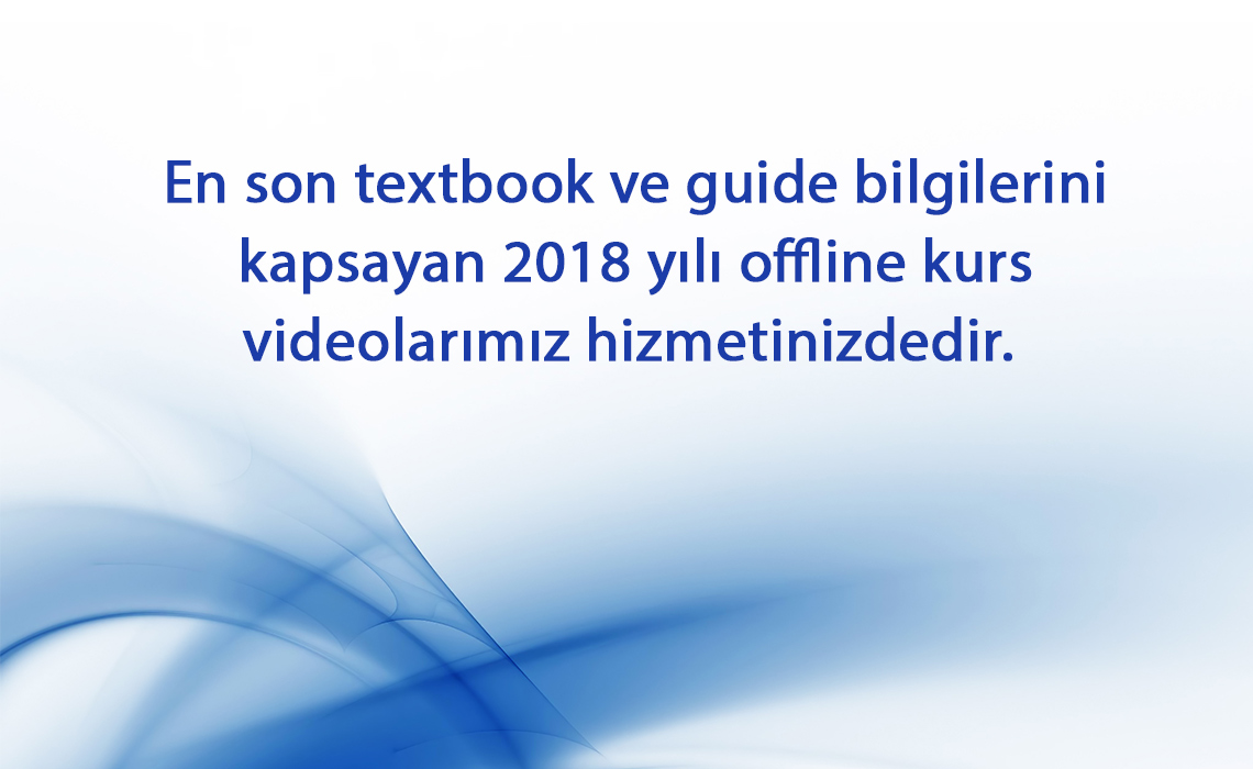 2018 yılı offline kurs videolarımız hizmetinizdedir